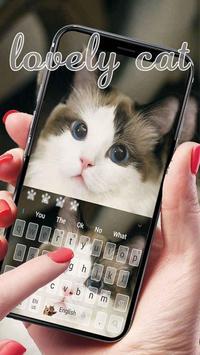 Cute Cat Keyboard screenshot 1