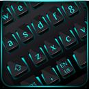 Black Blue Light Keyboard APK
