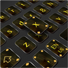 Clavier Cool Black Gold icône