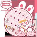 Cute Rabbit Da Ji Tu Keyboard