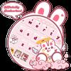 Cute Rabbit Da Ji Tu Keyboard biểu tượng