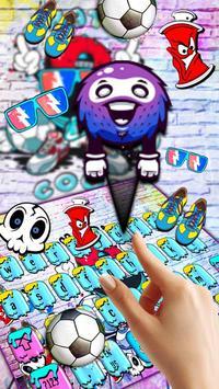 DJ Graffiti Keyboard Theme screenshot 1