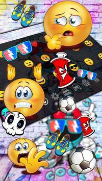 DJ Graffiti Keyboard Theme screenshot 2