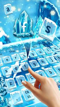 Frozen Ice Keyboard screenshot 1