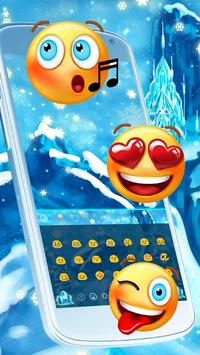 Frozen Ice Keyboard screenshot 2