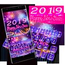 2019 Happy New Year Keyboard APK