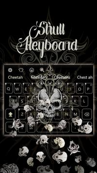 Live Devil Death Skull Keyboard poster