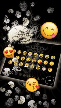Live Devil Death Skull Keyboard screenshot 2