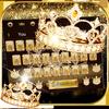 Gold diamond crown Keyboard Theme ikona
