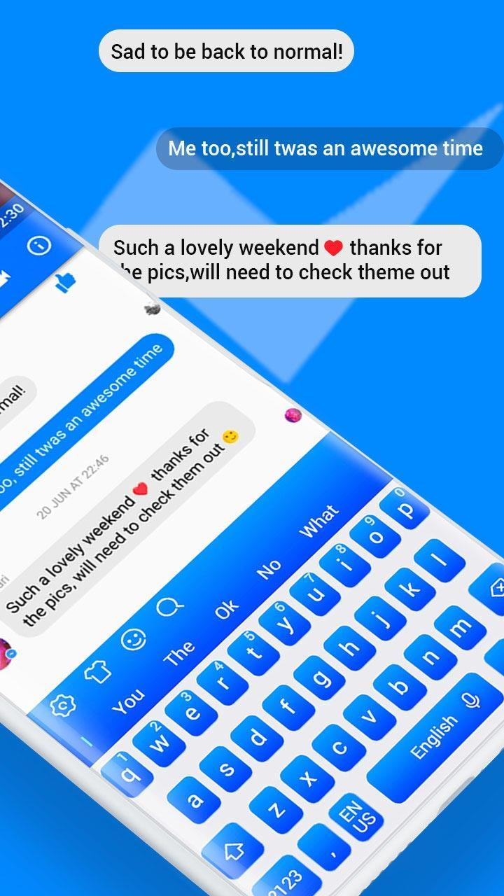 Keyboard Theme for Facebook Messenger for Android - APK Download