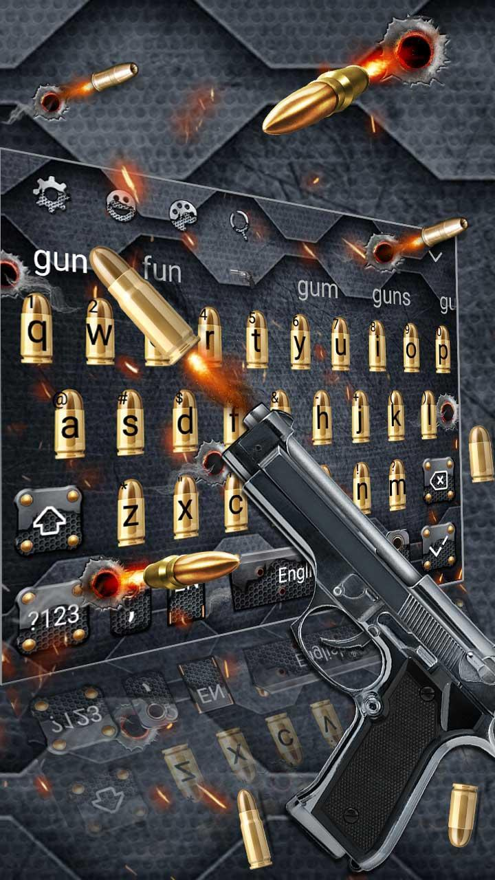 Gun and Bullet Keyboard Theme for Android - APK Download