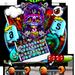Supreme Skull Graffiti Skateboard Keyboard