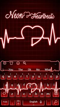 d21f25d134c LIVE Red Neon Heartbeat Keyboard Theme for Android - APK Download