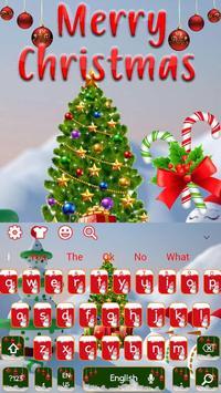 Merry Christmas Keyboard Theme screenshot 3