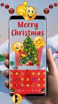 Merry Christmas Keyboard Theme screenshot 1