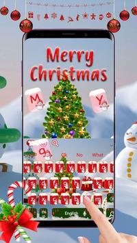 Merry Christmas Keyboard Theme screenshot 2