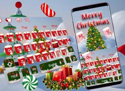 Merry Christmas Keyboard Theme screenshot 4