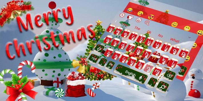 Merry Christmas Keyboard Theme screenshot 5