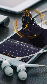 Black Technology AI Combat Police keyboard theme screenshot 1