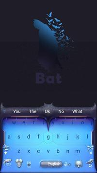 batman keyboard theme  Blue Technology poster