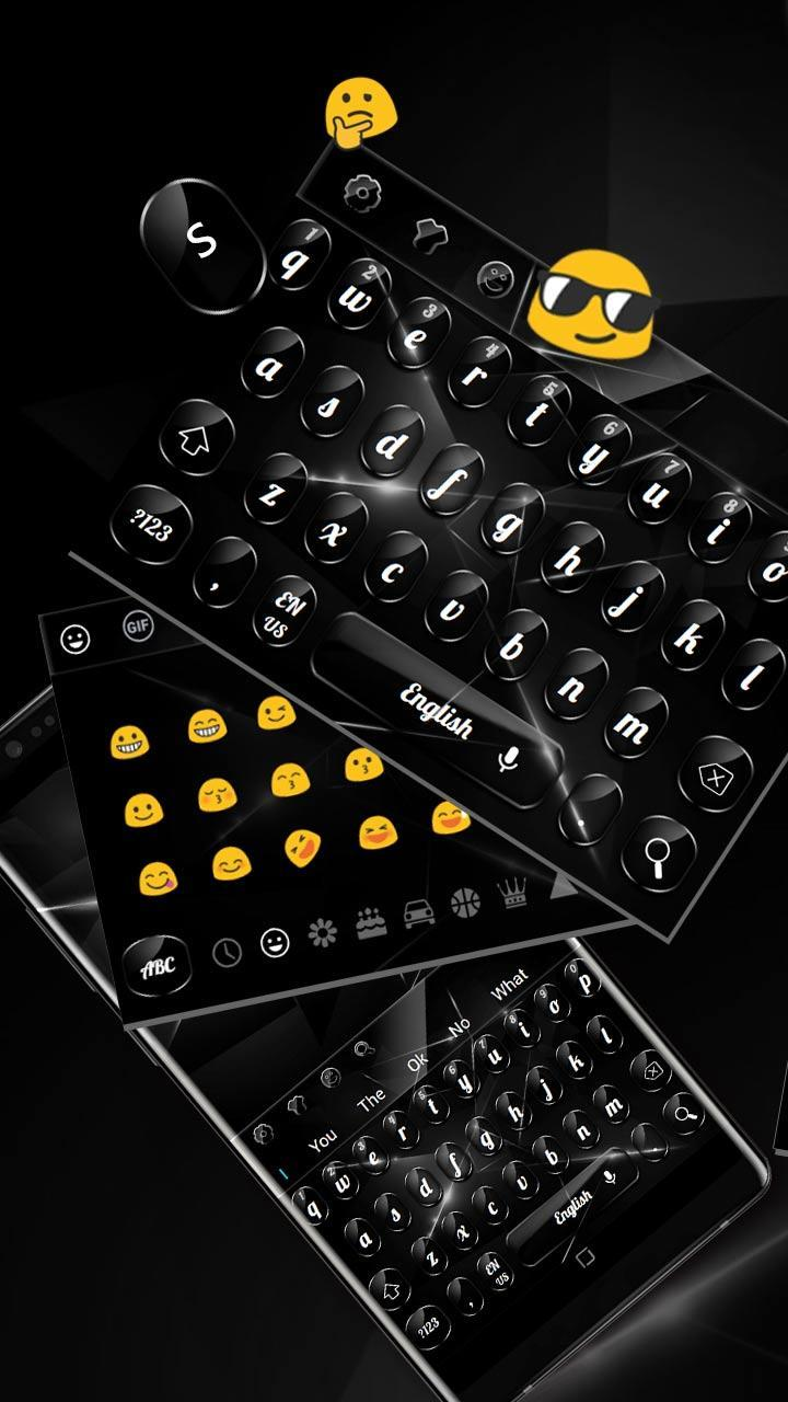 Cool Glossy Black Keyboard for Android - APK Download