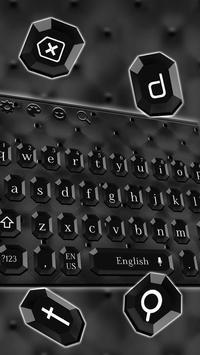 Glossy Black Keyboard Theme screenshot 3