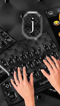 Glossy Black Keyboard Theme screenshot 1