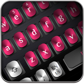 Black Pink Metal Keyboard icon