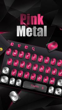 Black Pink Metal Keyboard screenshot 1