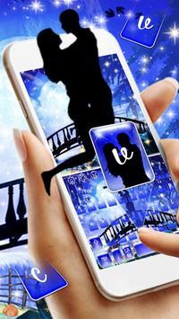 Blue Moonlight Keyboard Theme screenshot 1