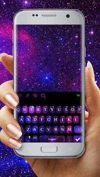 Galaxy 3D Keyboard theme screenshot 1