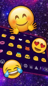 Galaxy 3D Keyboard theme screenshot 2
