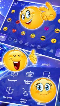 Glitter Lotus Keyboard Theme screenshot 2