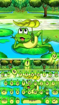 Cute Frog Nature Keyboard Theme🐸 screenshot 3