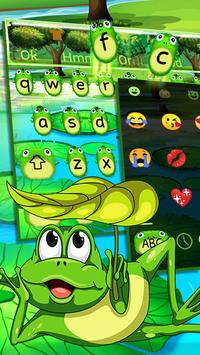 Cute Frog Nature Keyboard Theme🐸 poster