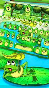 Cute Frog Nature Keyboard Theme🐸 screenshot 2