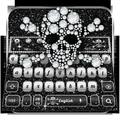 Diamond RIP Skull Keyboard Theme