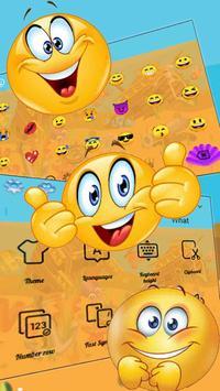 Cartoon Underwater Sea Keyboard Theme screenshot 2