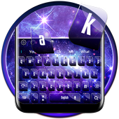 Fantasy Galaxy Dream Keyboard Theme icon