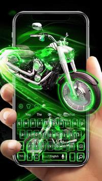 Green Neon Bike keyboard screenshot 1