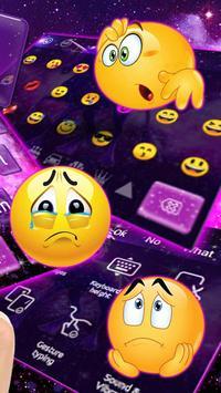 Fantasy Unicorn Keyboard Theme screenshot 2