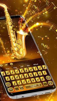 Golden Saxophone Keyboard Theme🎺 poster
