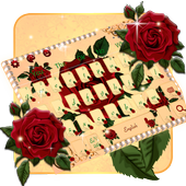 Red Rose Keyboard Theme🌹 icon