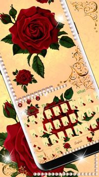 Red Rose Keyboard Theme🌹 poster