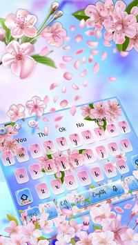 Beautiful Cherry Blossom Keyboard Theme🌸 poster