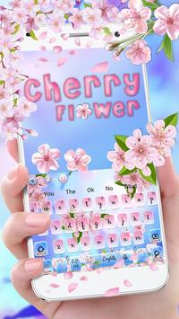 Beautiful Cherry Blossom Keyboard Theme🌸 screenshot 1