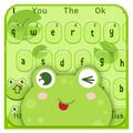 Cute Cartoon Frog Keyboard Theme