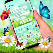 Nature Butterfly Animated Keyboard Theme icon
