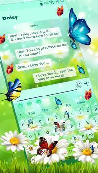 Nature Butterfly Animated Keyboard Theme screenshot 1
