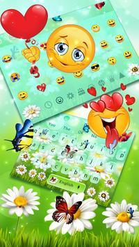 Nature Butterfly Animated Keyboard Theme screenshot 2